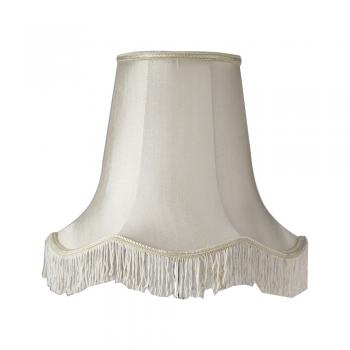Scallop shade with fringe